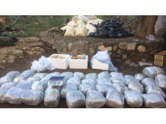 Diyarbakır'da 4 Bin 842 Kilogram Uyuşturucu Ele Geçirildi