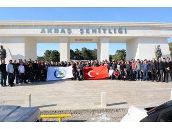 Düzce Üniversitesi Çanakkale Ziyaretiyle Öğrencilerine Milli Birlik Ruhunu Aşılıyor