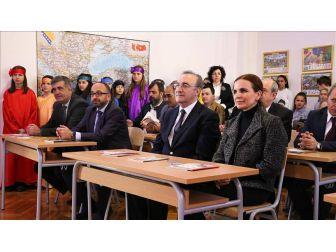 Başkan Üzülmez, Bosna Hersek'te Türkçe Sınıf Açtı