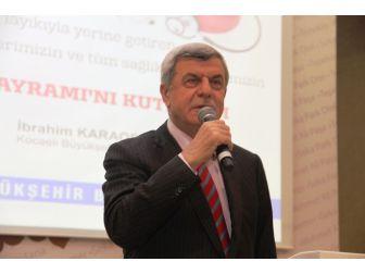 Başkan Karaosmanoğlu, Sağlık Personelini Yemek Programında Ağırladı