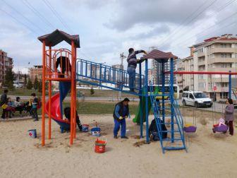 Edirne'de Parklar Yenileniyor