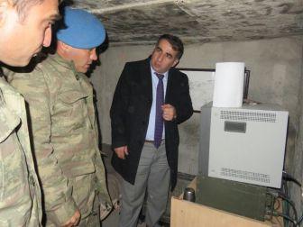 Kaymakam Ercan Öter, Askeri Üst Bölgelerini Ziyaret Etti