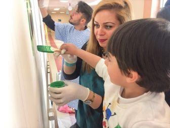 Harran Üniversitesi Çocuk Servisinde Hastalar Sanatla İyileştirilecek