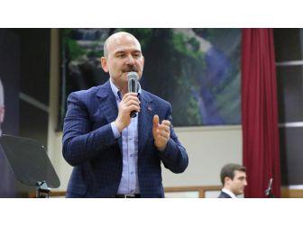 İçişleri Bakanı Soylu: Teröre Can Suyu Vermeye Çalışanı Bu Millet Affetmez