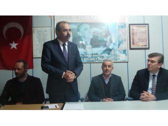 Milletvekili Muhammet Balta'dan, Mhp Vakfıkebir İlçe Başkanlığı'na Ziyaret
