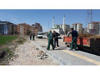 Edirne'de Hastane Yolu Renkleniyor