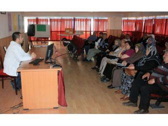 Aksaray'da Diyabet Okulunda, Eğitimler Devam Ediyor