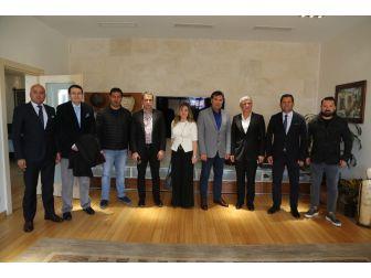 Spor Camiasından Başkan Kocadon'a Ziyaret