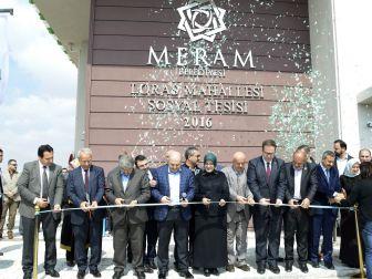 Loras Sosyal Tesisi Hizmete Açıldı