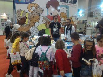 Osmanelili Öğrenciler Kitap Fuarında