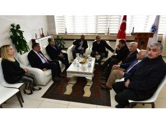 Milletvekili Yaşar'dan Başkan Gürkan'a Ziyaret