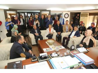 Milletvekili Çelik, Finike Belediyesini Ziyaret Eti