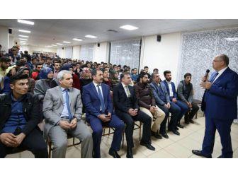 Başkan Kutlu, Kyk'da Kalan Öğrencilere Deneyimlerini Anlattı