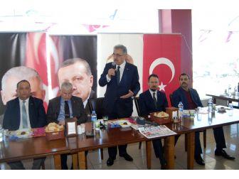 """Ak Parti Genel Başkan Yardımcısı Yazıcı: """"Anayasayı Millet Yapar"""""""