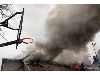 Anaokulunda Yangın Paniği