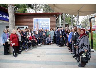Ebru Türel, Engelli Stk Temsilcileri İle Buluştu