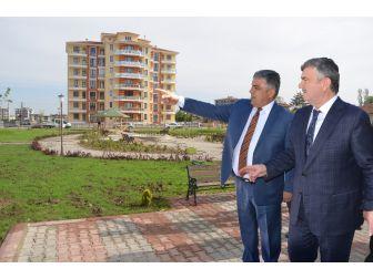Başkan Özkan'dan, Başkan Akyürek'e Teşekkür