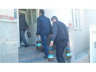 Zeytinyağı Hırsızları Yakalandı