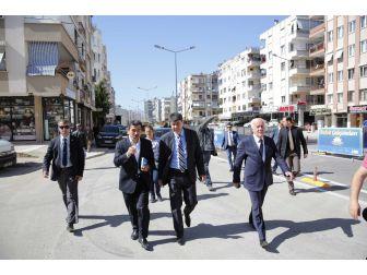 Türel, Cumhurbaşkanı Erdoğan'ın Açacağı Tonguç Caddesi'ni İnceledi