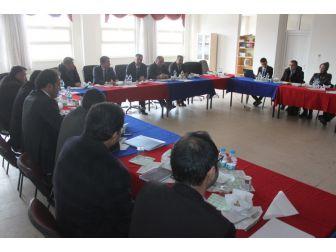 Gevaş'ta Ybo Müdürleri Toplantısı