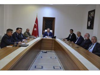 Dörtyol'da Seçim Güvenliği Toplantısı