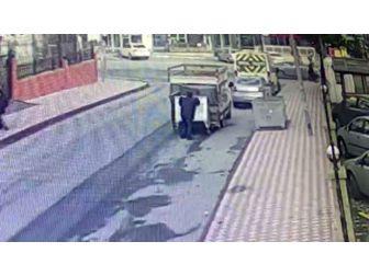 (Özel Haber ) Çöp Konteynerlerini Çalan Hırsızlar Suçüstü Yakalandı