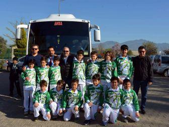 Başak Koleji Küçük Erkekler Takımı Final Vizesi İçin Konya'da