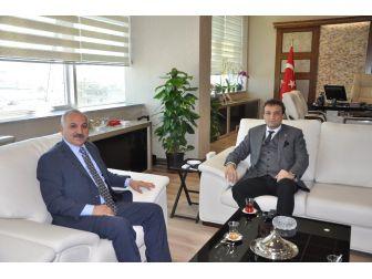 Başkan Dinçer'den Cumhuriyet Başsavcısı Ercan'a Ziyaret