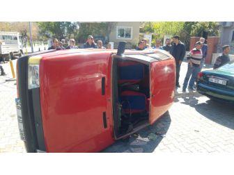 Marmaris'te Trafik Kazası; 1 Yaralı