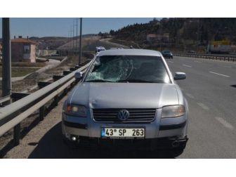 Bozüyük'te Otomobil Yayaya Çarptı, 1 Ölü