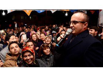 Ak Parti Grup Başkanvekili Turan: Meydanı Üç Tane Kasetçiye, 5 Tane Pkk'lıya Bırakmayacağız