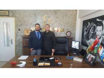 Osmanlı Ocaklarından MHP Tepebaşı İlçe Başkanlığına Ziyaret