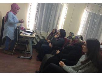 Çukurca'da Ağız Diş Sağlığı Semineri Verildi