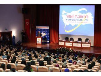 Yeni Türkiye Konferanslarının 7'incisi İnönü Üniversitesinde Yapıldı