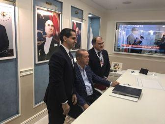 Cumhurbaşkanı Erdoğan, Antalya'da Turizmcilerle Görüştü