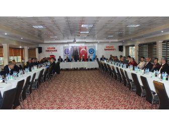 Türk Büro-sen İstişare Toplantısını Adıyaman'da Gerçekleştirdi