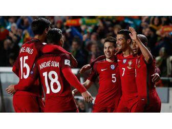 Portekiz'den Macaristan Ağlarına 3 Gol