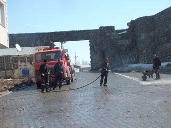Malazgirt Belediyesinden Bahar Temizliği