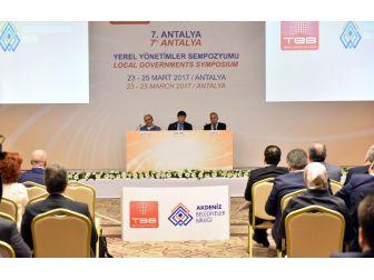 Antalya Şehircilik Ve Teknolojileri Fuarı'nda Usta Başkanlar Konuştu