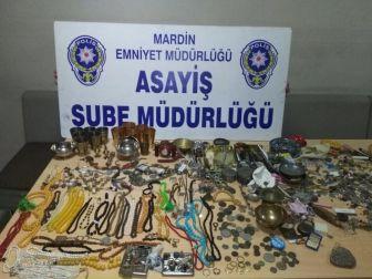 Mardin'de Hırsızlık Olayı Aydınlatıldı
