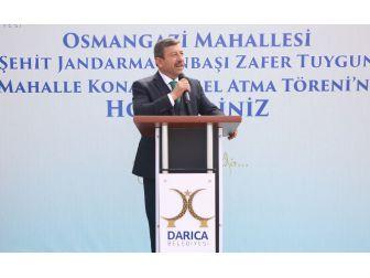 Darıca'da Yeni Projeler Hizmete Giriyor
