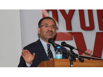 Adalet Bakanı Bozdağ: Yapılan Eylem Türkiye'nin İçişlerine Müdahale Anlamı Taşır