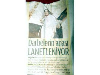 """İsmail Dededen Darağaçlı Gazete Kupürüyle """"Evet"""""""