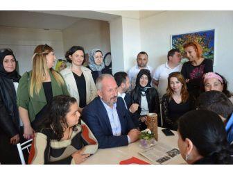 Kasım Bostan'dan Engellilere Ziyaret