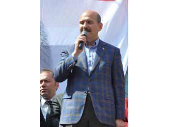 İçişleri Bakanı Soylu Trabzon'da