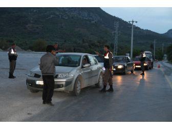 Datça'da Jandarmanın Denetimleri Gece Gündüz Devam Ediyor