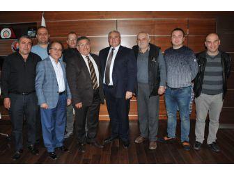Atso Başkanı Çetin, Sinan Mahallesi Esnafıyla Buluştu
