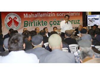 Başkan Genç, Çığlık Halkıyla Buluştu