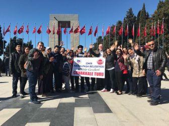 İşitme Engelli Vatandaşlar Çanakkale'de Şehitlikleri Gezdi