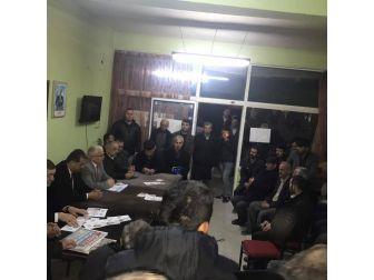 Başkan Tekin, Referandum Çalışmalarına Köy Ziyaretleriyle Devam Ediyor